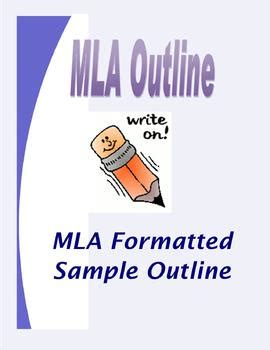 Writing a Great Work with MLA Essay Format Example Keys